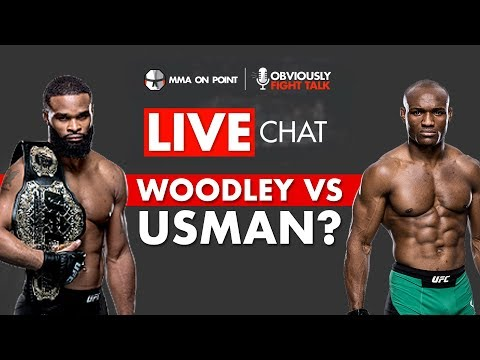 Usman vs  Woodley?, Zuffa Boxing, UFC 233 cancelled, UFC on FOX 31 - Live  Chat