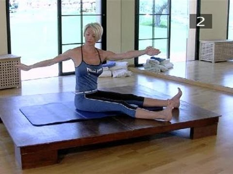 How To Do The Saw In Pilates