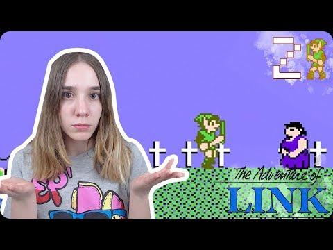 ¡DIFÍCIL NO, LO SIGUIENTE!: The Legend of Zelda 2 (NES) The Adventure of Link Ep 2