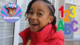 Cali School | Learn Numbers and Letters with Cali | Cali's Playhouse