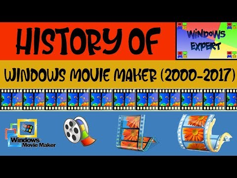 HISTORY OF WINDOWS MOVIE MAKER [2000-2017]