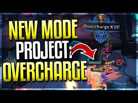 OVERCHARGE: NEW GAME MODE GAMEPLAY! OP Mode - League Of Legends