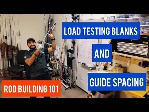 Rod Building 101: Using Rubber Bands For Load Testing Blanks And Spacing Guides