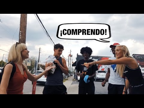 Super Martinez - Chequea este experimento social de cuanto español hablando los gringos