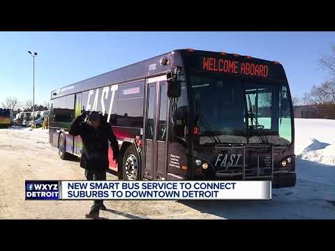New SMART Bus Service To Connect Suburbs To Downtown Detroit