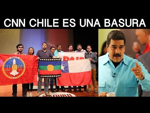 Nicolás Maduro: CNN Chile es una basura, y la constitución de Pinochet, más. Venezuela