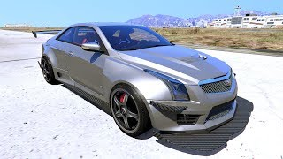 Review-----2016 Cadillac ATS-V Forza Edition [Add-On / OIV / Animated Engine / Livery]
