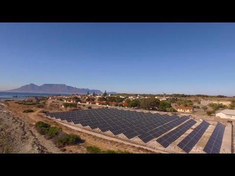 Robben Island goes solar