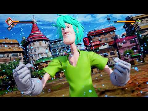 JUMP FORCE Shaggy Gameplay Awakening Transformation (Mod)