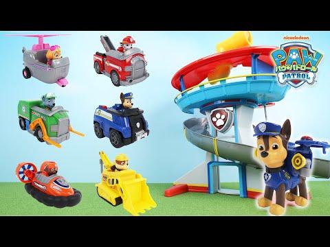 パウ・パトロールのおもちゃでレスキューごっこ どんなトラブルもパウフェクトにかいけつだ! Paw Patrol Rescue Toy Play