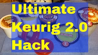Ultimate Keurig 2.0 Hack! All menu choices unlocked and for your use!