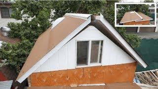 Tiny House Folding Roof