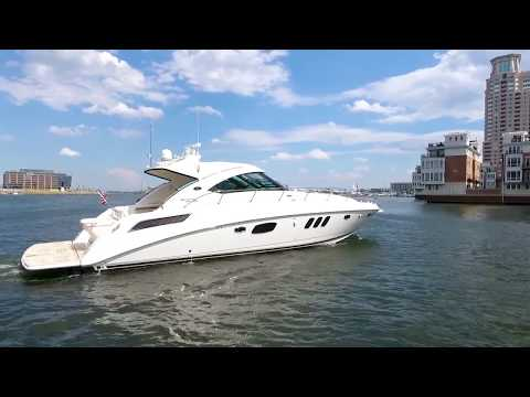 2012 Sea Ray 54 Sundancer Yacht For Sale at MarineMax Baltimore