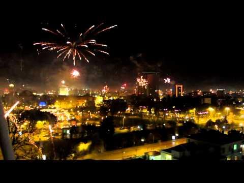 New Year's in Tirana