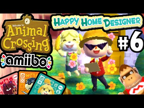 Animal Crossing Happy Home Designer PART 6 Gameplay Walkthrough (Mario DLC Isabelle Amiibo Card) 3DS