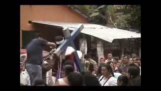 Tlacolula, Hgo. Procesión de Semana Santa 2014