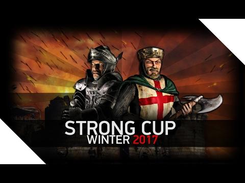 [Турнир]  Stronghold Crusader | 1/4 | День 1 | StrongCupWinter 2017