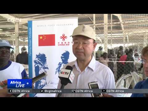 China supports WFP to supply full rations to refugees in Kenya