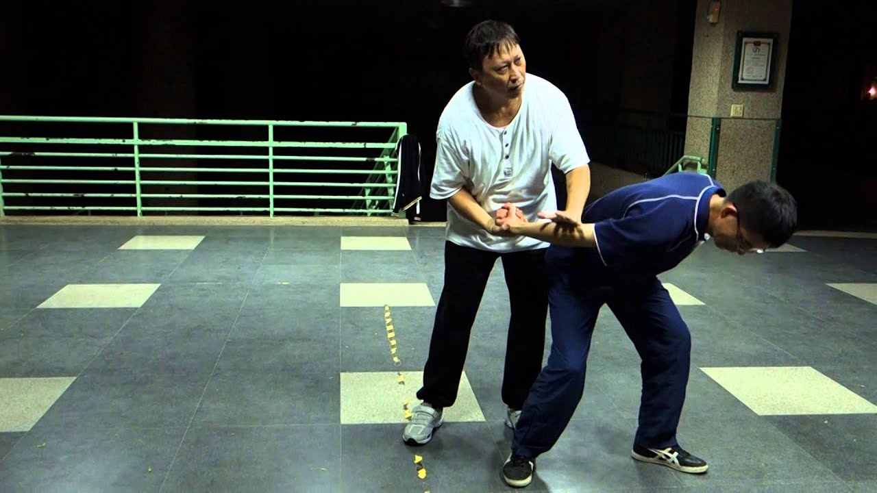 太極拳第一式攬雀尾用法及變打用法 - YouTube