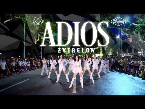 [KPOP IN PUBLIC] EVERGLOW - Adios | DANCE COVER | Cli-max Crew From Vietnam (Night Background Ver.)