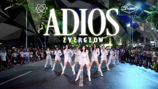 Download [KPOP IN PUBLIC] EVERGLOW - Adios | DANCE COVER | Cli-max Crew from Vietnam (Night background ver.)