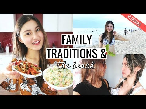 Polish and Chinese Christmas Traditions & The Beach⎮Vlogmas #7
