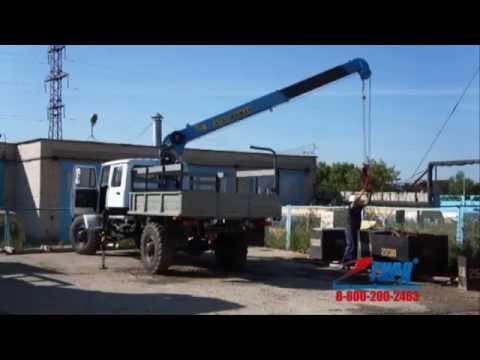 ГАЗ 33081 Егерь Бортовой автомобиль с КМУ ИТ-80_ГП ГИРД