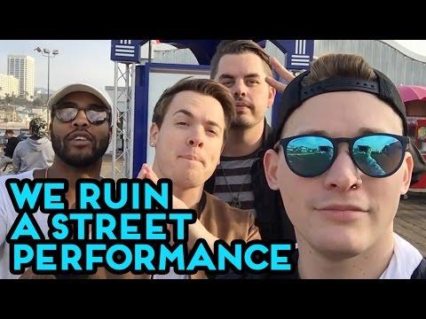 Set It Off - We Ruin A Street Performance