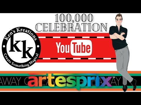 ARTESPRIX 100K CELEBRATION (WIN MARKERS & SUBLIMATION TOTE)