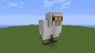 как построить овцу в minecraft