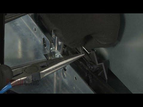 Sliding Arm Lever Assembly - Kitchenaid Microwave #KMBP100ESS01