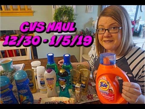 CVS HAUL VIDEO 12/30 - 1/5/19 | FREE CANDY, CHEAP TIDE & MORE!