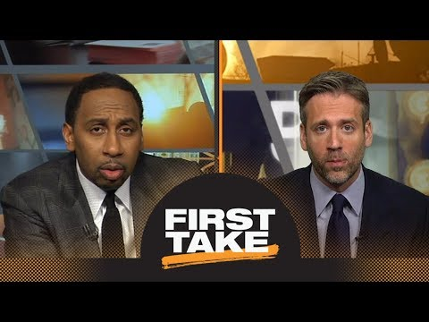 Stephen A. and Max disagree if Warriors or Cavaliers are in more trouble   First Take   ESPN