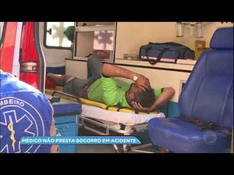 Médico atinge motociclista e não presta socorro