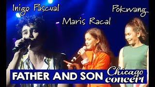 Chicago Concert: Piolo Pascual, Inigo Pascual, Pokwang and Maris Racal