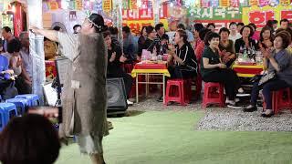 양푼이품바 보릿고개 안동역에서 군산항아 열띤 호응 일산 해수욕장 0709