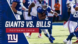 Giants vs. Bills Postgame Show Feat. Coach Shurmur, Eli Manning & Saquon Barkley