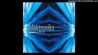 Blaktroniks - Talking Drummachine