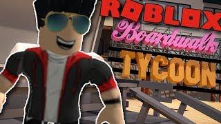 I'M BUILDING MY OWN BEACH! | ROBLOX: Boardwalk Tycoon