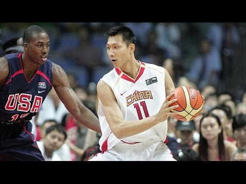 China vs USA 2006 FIBA Basketball World Championship Exhibition FULL GAME English