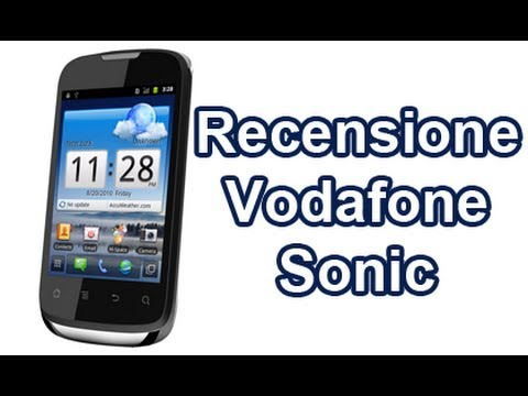 Vodafone Sonic / Huawei U8650, recensione completa in italiano by AndroidWorld.it