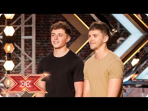 ITG keep it in the family with Ed Sheeran cover   Auditions Week 4   The X Factor 2017