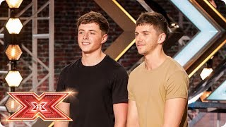 ITG keep it in the family with Ed Sheeran cover | Auditions Week 4 | The X Factor 2017