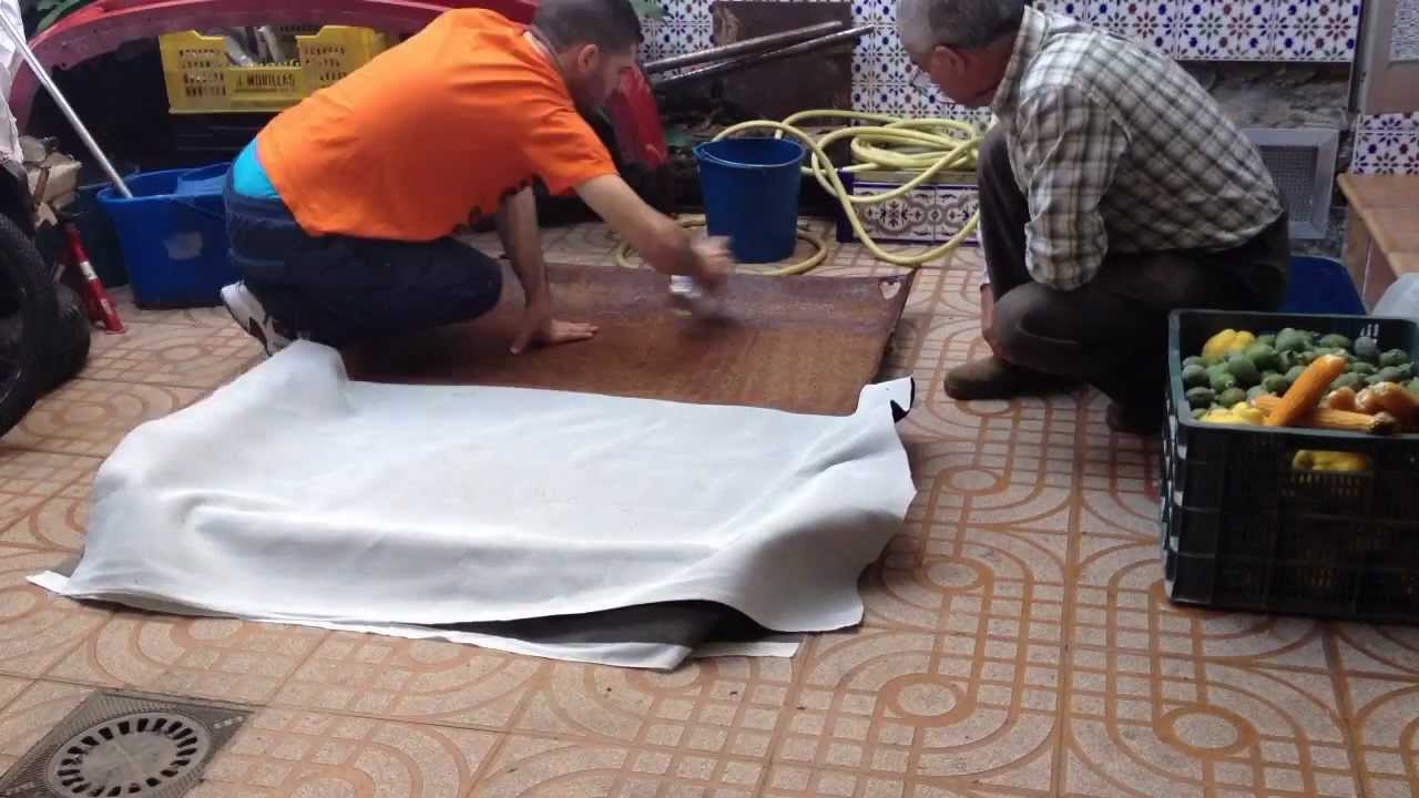 Tutorial tapizado de techo seat 127 fran ortega youtube - Tela para tapizar techo coche ...