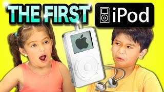 Repeat youtube video KIDS REACT TO 1ST iPOD