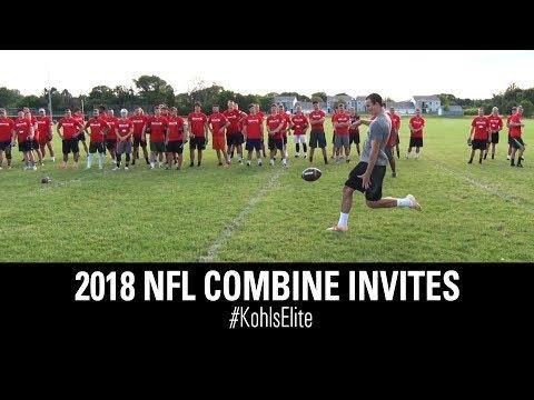 2018 NFL Combine Kickers & Punters | Kohl