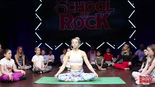 #WorldMentalHealthDay Meditation Session | SCHOOL OF ROCK: The Musical