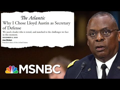 Sen. Duckworth 'Will Not Support The Waiver' For Gen. Austin To Serve As Defense Secretary | MSNBC