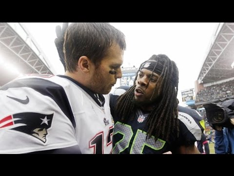 Tom Brady & Richard Sherman's Beef - U Mad Bro?