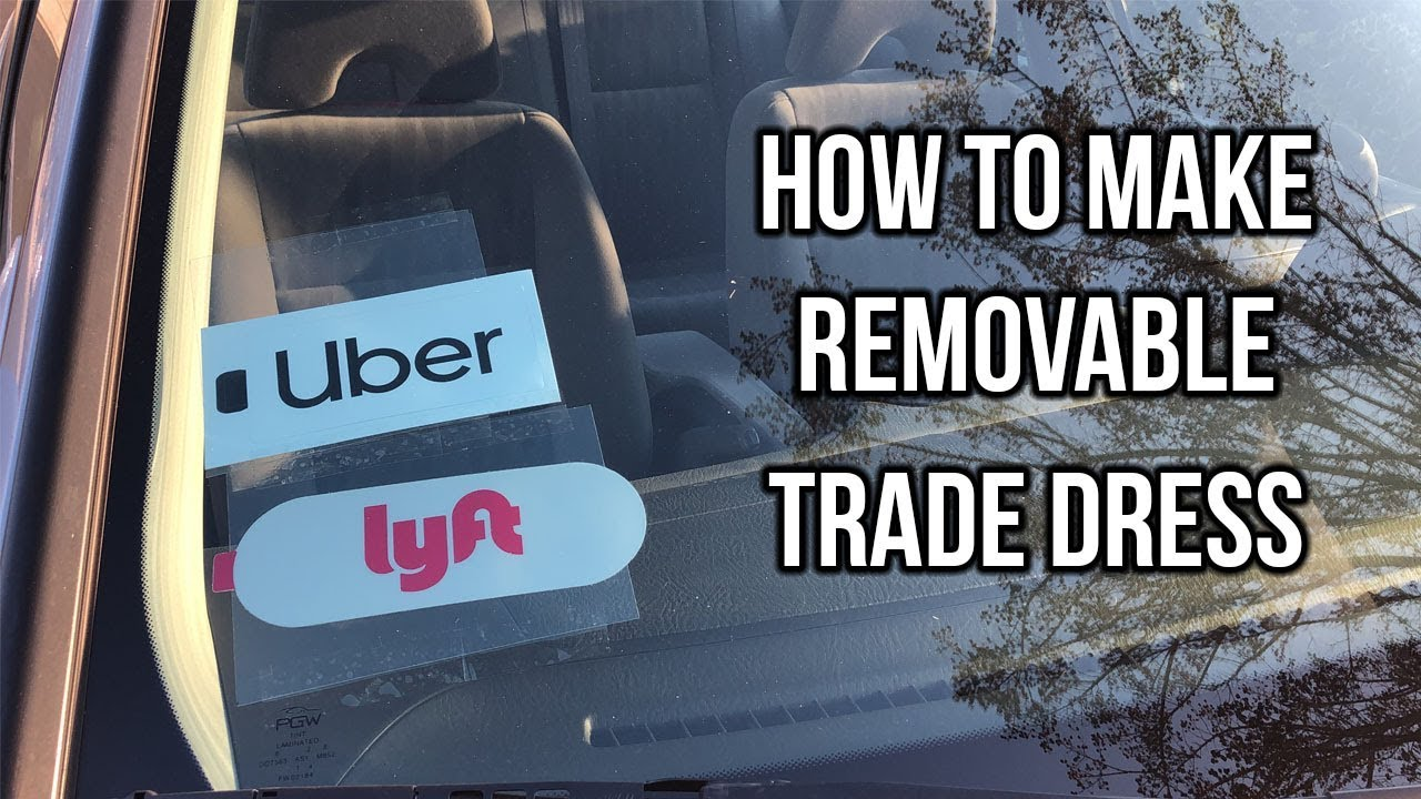 picture relating to Printable Uber Trade Dress titled How towards Generate Detachable Exchange Gown for Uber or Lyft
